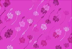 capa de desenho de vetor rosa claro.