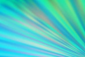 textura de vetor azul e verde claro com linhas coloridas.