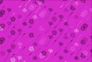 textura de doodle de vetor rosa claro.