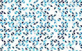cenário sem costura vector azul claro com linhas, triângulos.