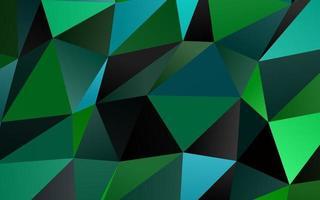 textura de baixo poli de vetor azul claro e verde.