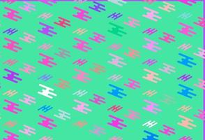 fundo vector rosa claro, azul com linhas retas.