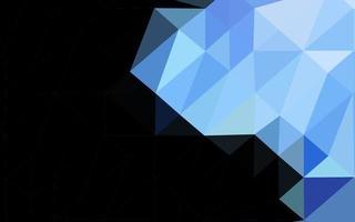 fundo azul escuro do mosaico do sumário do vetor. vetor