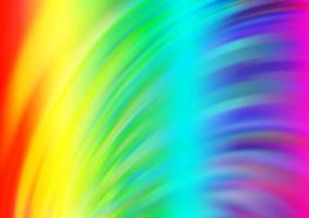 luz multicolor, fundo do vetor do arco-íris com linhas dobradas.