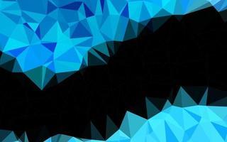 textura de triângulo embaçada de vetor azul claro.