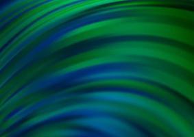 modelo de vetor azul e verde escuro com linhas ovais.