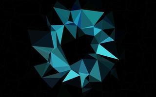 padrão de triângulo embaçado de vetor azul claro.