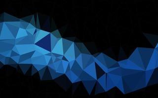 textura de baixo poli de vetor azul escuro.