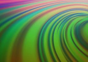 multicolor escuro, vetor de arco-íris turva e fundo colorido.