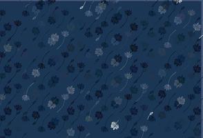 textura de doodle de vetor azul claro.