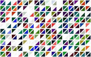 luz multicolor, textura sem emenda do vetor do arco-íris em estilo triangular.