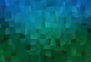 luz azul, verde abstrato do polígono do vetor. vetor