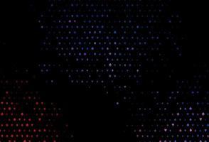 modelo de vetor azul e vermelho escuro com símbolos de pôquer.