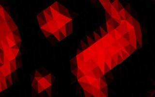 textura poligonal do sumário do vetor vermelho claro.