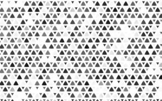 prata, cinza claro sem costura de fundo vector com triângulos.