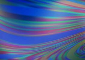 luz azul vetor abstrato turva padrão.