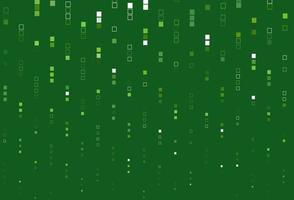 fundo verde claro do vetor com retângulos.