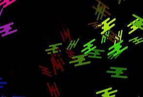 layout de vetor verde e vermelho escuro com linhas planas.