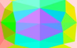 luz multicolor, arco-íris vetor abstrato capa poligonal.