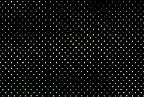 capa de vetor verde e amarelo escuro com símbolos de aposta.