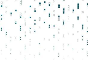 padrão de vetor azul claro com cristais, retângulos.