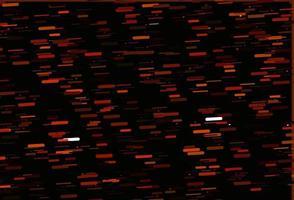 pano de fundo laranja claro do vetor com linhas longas.