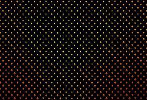 padrão de vetor laranja escuro com símbolo de cartas.