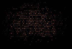 capa de vetor laranja escuro com símbolos de aposta.