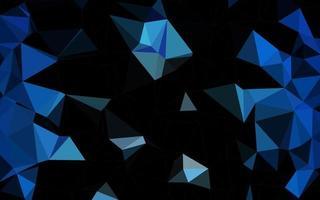 pano de fundo abstrato do polígono do vetor azul escuro.