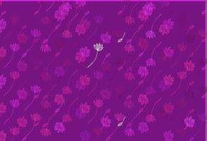 rosa claro, azul padrão pintado à mão do vetor. vetor
