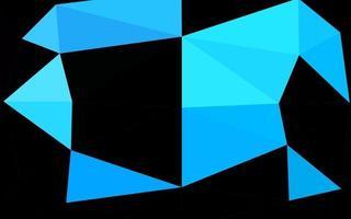 modelo de mosaico de triângulo de vetor azul claro.