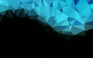 layout de baixo poli de vetor azul claro.