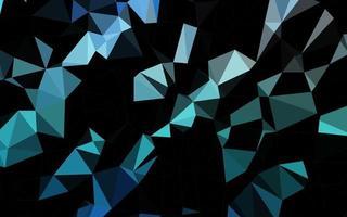 modelo de triângulo embaçado de vetor azul claro.