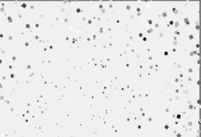 textura leve prata, cinza vetor em estilo poli com círculos, cubos.