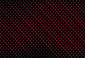 layout de vetor vermelho escuro com elementos de cartões.