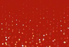 capa de vetor vermelho e amarelo claro com estilo poligonal.