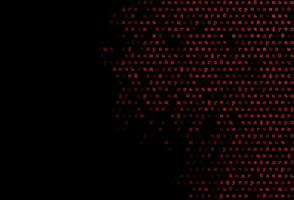 modelo de vetor vermelho escuro com letras isoladas.