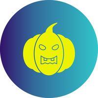 ícone de abóbora de vetor
