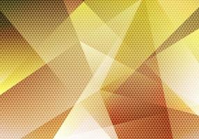 fundo abstrato polígono baixo amarelo com textura de padrão de triângulo vetor