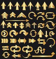 coleção de seta