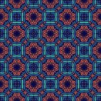 ornamento de padrão sem emenda. luxo à moda antiga pronta para imprimir vetor
