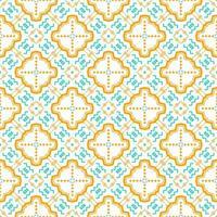 ornamento de forma perfeita. padrão abstrato design moderno vetor