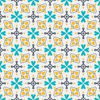 ornamento de padrão sem emenda. forma abstrata design moderno vetor