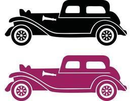elementos de transporte, veículo e entrega. conjunto de ícones da web de linha fina. vetor