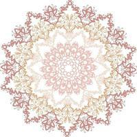 espírito de mandala colorido para decoração vetor