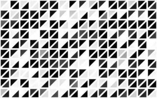modelo sem emenda de luz prata, cinza vetor com cristais, triângulos.