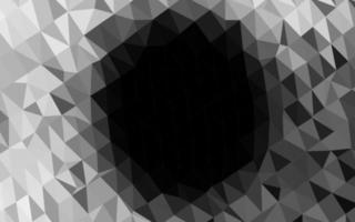 modelo poligonal de vetor cinza claro prata.