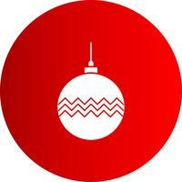 ícone de decoração de bola de vetor
