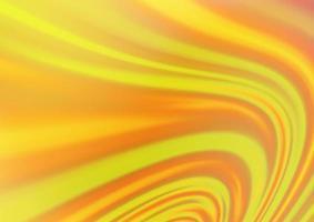 fundo vector laranja claro com fitas dobradas.