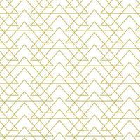 vetor geométrico elegante padrão sem emenda